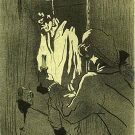 """Lautrec Henri de Toulouse, """"Le Pendu"""""""