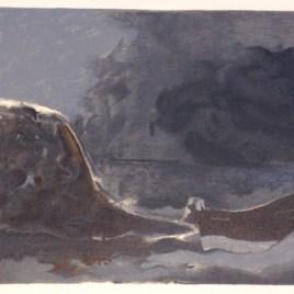 """Braque Georges, """"Marine noire"""""""