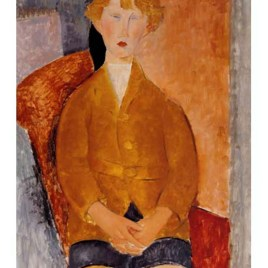 "Modigliani Amedeo, ""Boy in short pants 1918"""