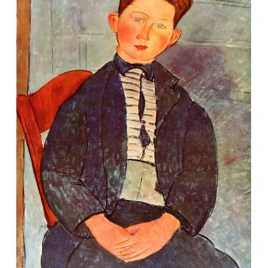 "Modigliani Amedeo, ""Boy with pink Shirt"""