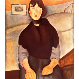 "Modigliani Amedeo, ""La fille du peuple"""