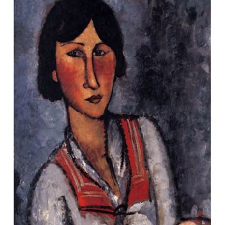 Modigliani_11_Portrait_of_a_woman_1918
