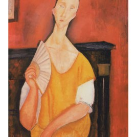 "Modigliani Amedeo, ""Portrait of Lunia Czechowska"""