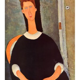 "Modigliani Amedeo, ""Portrait of painter Kisling"""
