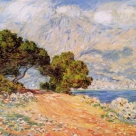 """Monet Claude, """"Cap Martin near Menton"""""""
