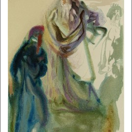 "Dali Salvardor, ""Paradise 28 – The walk toward god"""