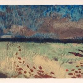 """Braque Georges, """"Paysage aux coquelicots"""""""