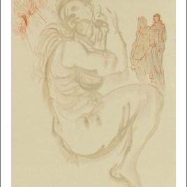 """Dali Salvardor, """"Purgatory 19 – Dante s dream"""""""