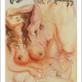 """Dali Salvardor, """"Purgatory 9 – The dream"""""""