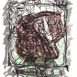 "Riopelle Jean-Paul, ""Untitled – DM07"""