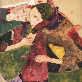 "Schiele Egon, ""Group of three girls 1911"""