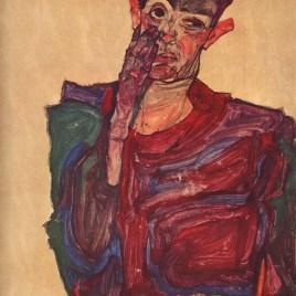 "Schiele Egon, ""Self Portrait 1910"""
