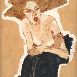 "Schiele Egon, ""The spiteful one 1910"""