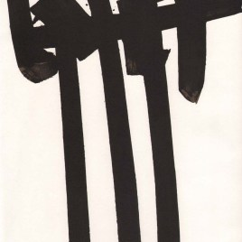 """Soulages Pierre, """"Untitled XXe Siecle"""""""