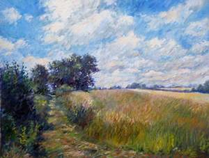 french painting countryside