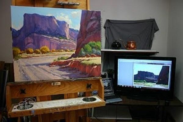 rusty jones canyonland landscape