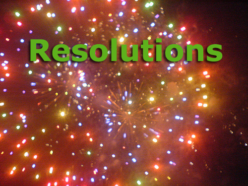new years resolutions fireworks