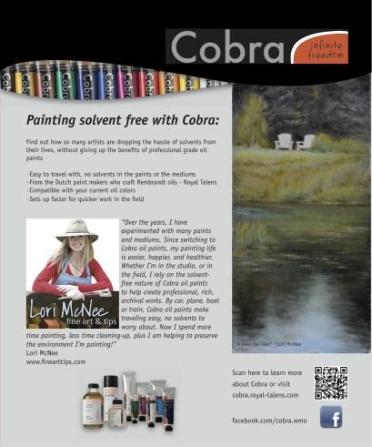 cobra oil paints