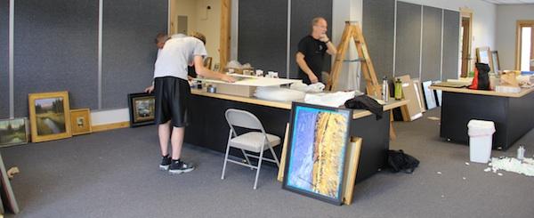 pop up art gallery