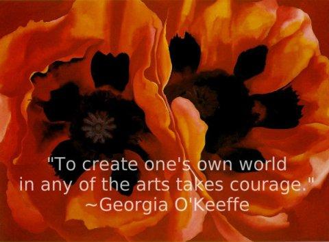 poppies Georgie O'Keeffe