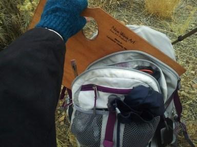 artist palette backpack