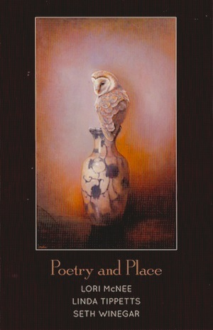 gallery invitation, poetry and place, still life, lori mcnee