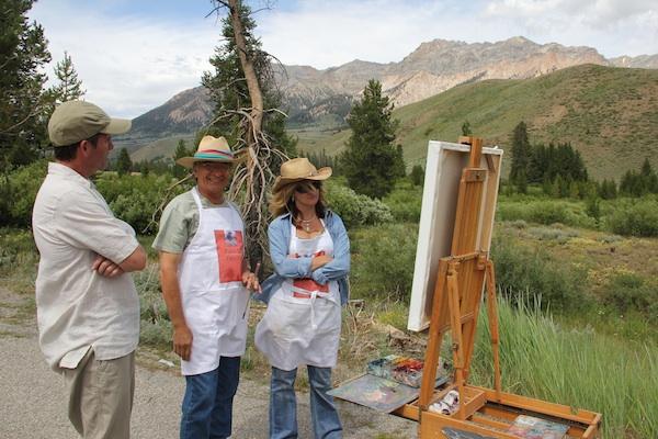 plein air painting artists