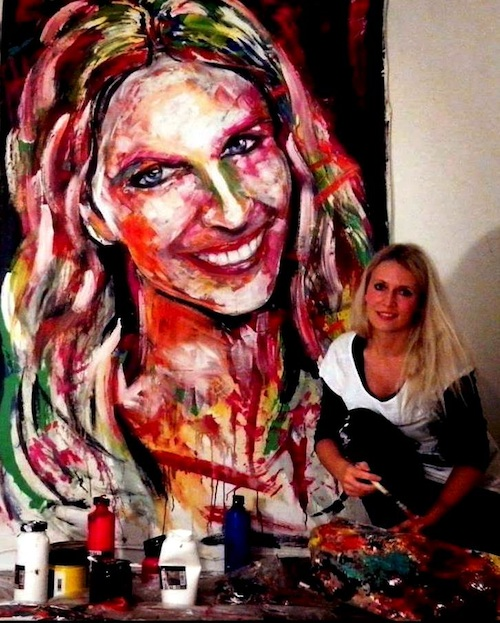 10 Tips To Creating Large Canvas Paintings