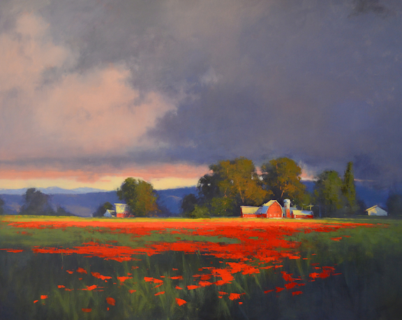 Manageable Steps to Create a Huge Landscape Painting