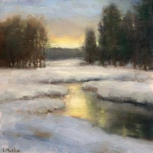 Winter's Glow 8x8 ©2015 LMcNee