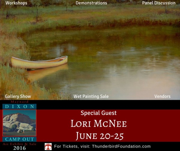 Maynard Dixon Country Camp Out SPECIAL GUEST LORI MCNEE