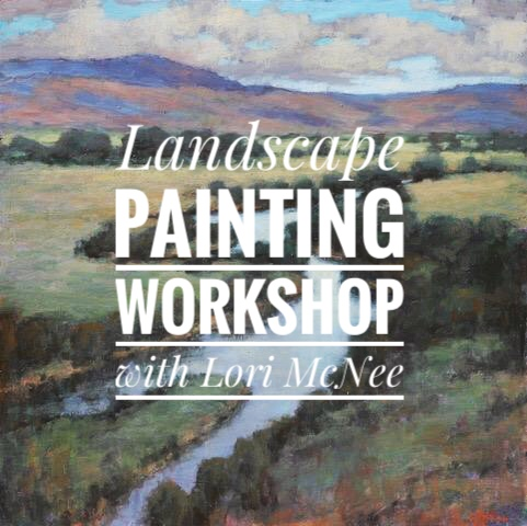 Landscape Painting Workshop in Sun Valley, Idaho with Lori McNee