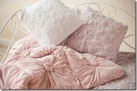 Anthropologie Bedding w/ Ruffled, Smocked, Quilt Patterns