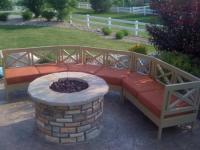 Wood Work Diy Firepit Bench PDF Plans
