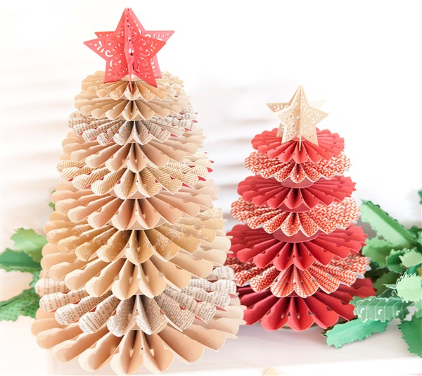 Christmas Tree Decorations Recycled Materials
