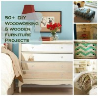 50 DIY Wooden Furniture + Woodworking Projects