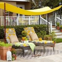 DIY Garden Canopy