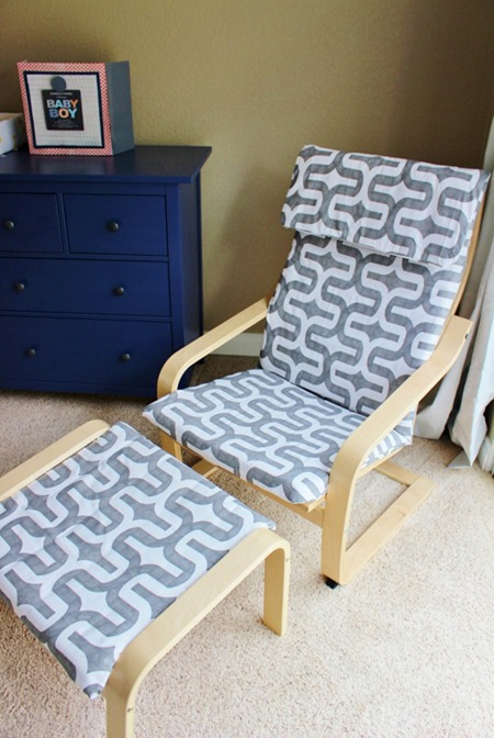 ikea poang chair covers uk zero gravity reclining review slipcover pattern cover sewing furniture makeover hack