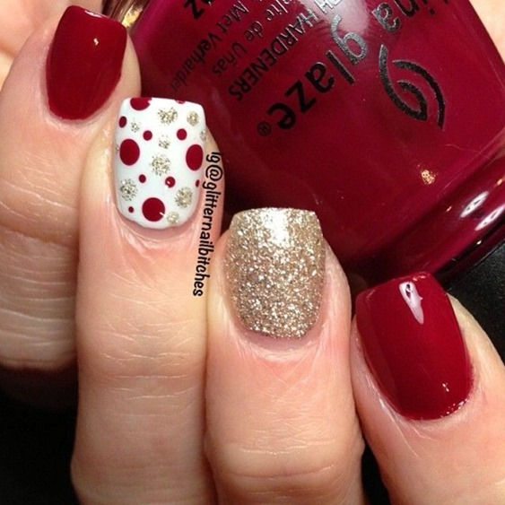 Large Size Of Christmas Nail Designs To Do At Home Summer Diy Cute Xmas Art Easy