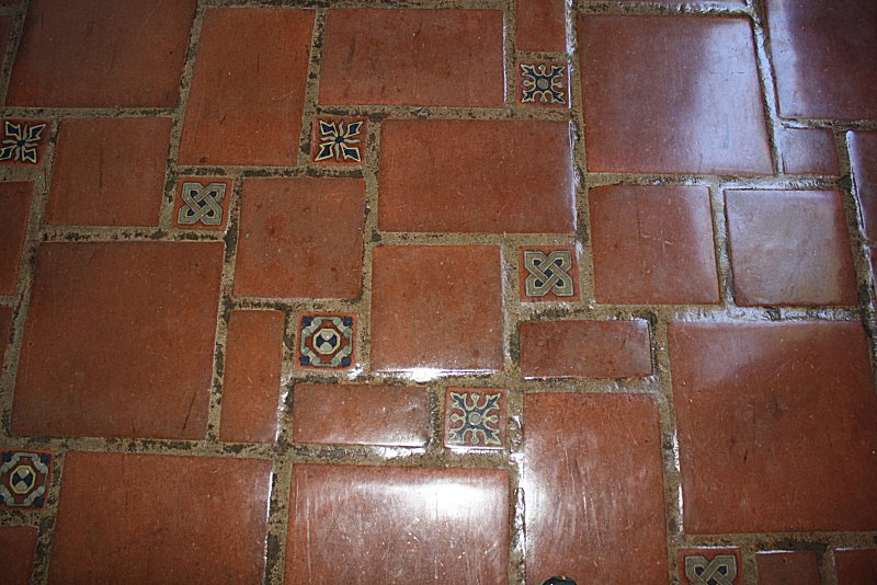 decorative tiles as inserts in