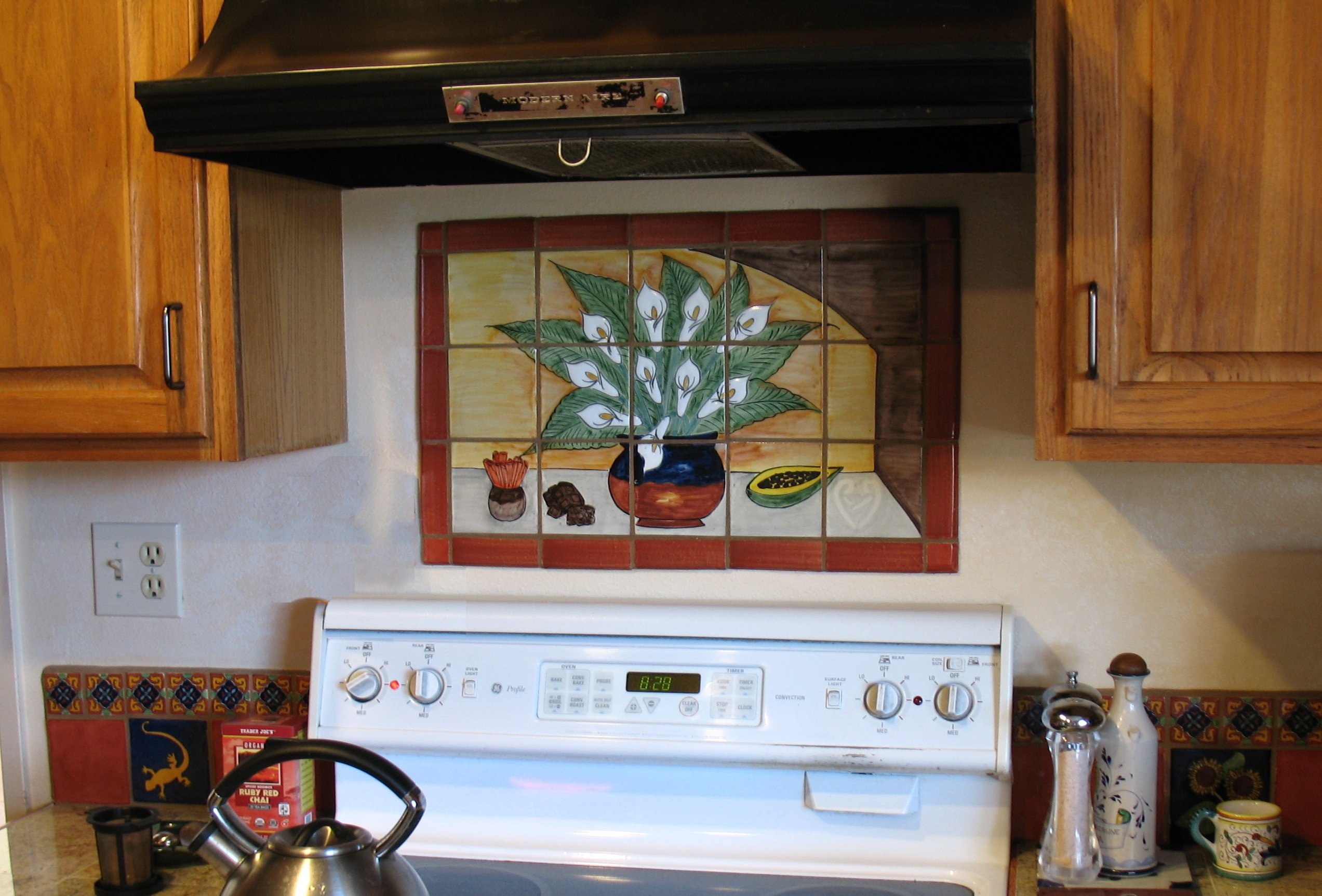 mexican backsplash tiles kitchen mosaic tile home design and decor