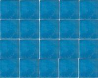 Aqua Blue Talavera Mexican Tile