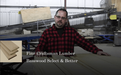 What to expect? Fine Craftsman Lumber's Basswood