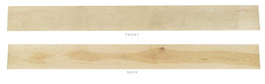 Inspector's Choice White Birdseye Hard Maple - 13/16 x 6 x 60