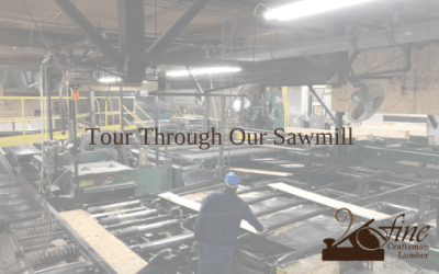 Tour through Our Sawmill