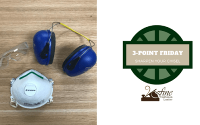 Sharpen Your Chisel: 3-Point Friday 5/29/2020
