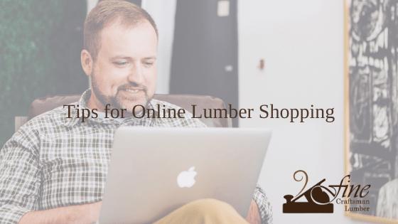 Tips for Online Lumber Shopping
