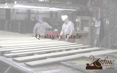 Quality vs. Grade
