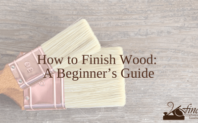 How to Finish Wood: A Beginner's Guide