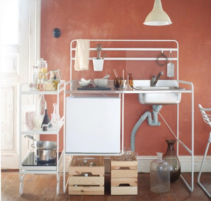 ikea mini kitchen is the portable